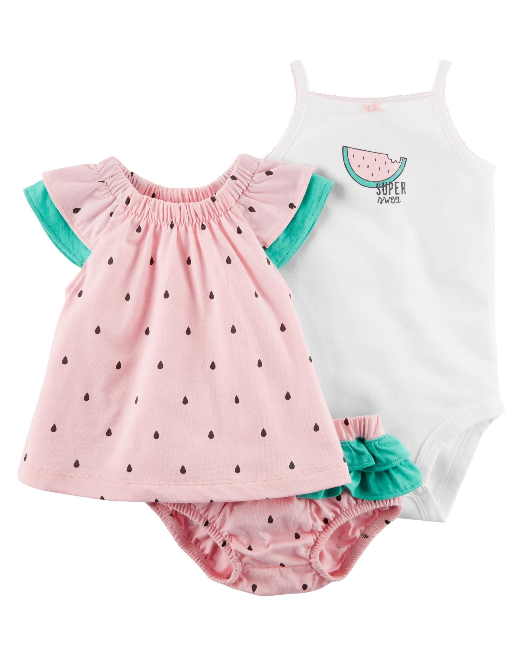 One opening Newborn Infant Baby Girl Watermelon Shorts Girls Summer Casual Bloomer Pants Outfits Clothes