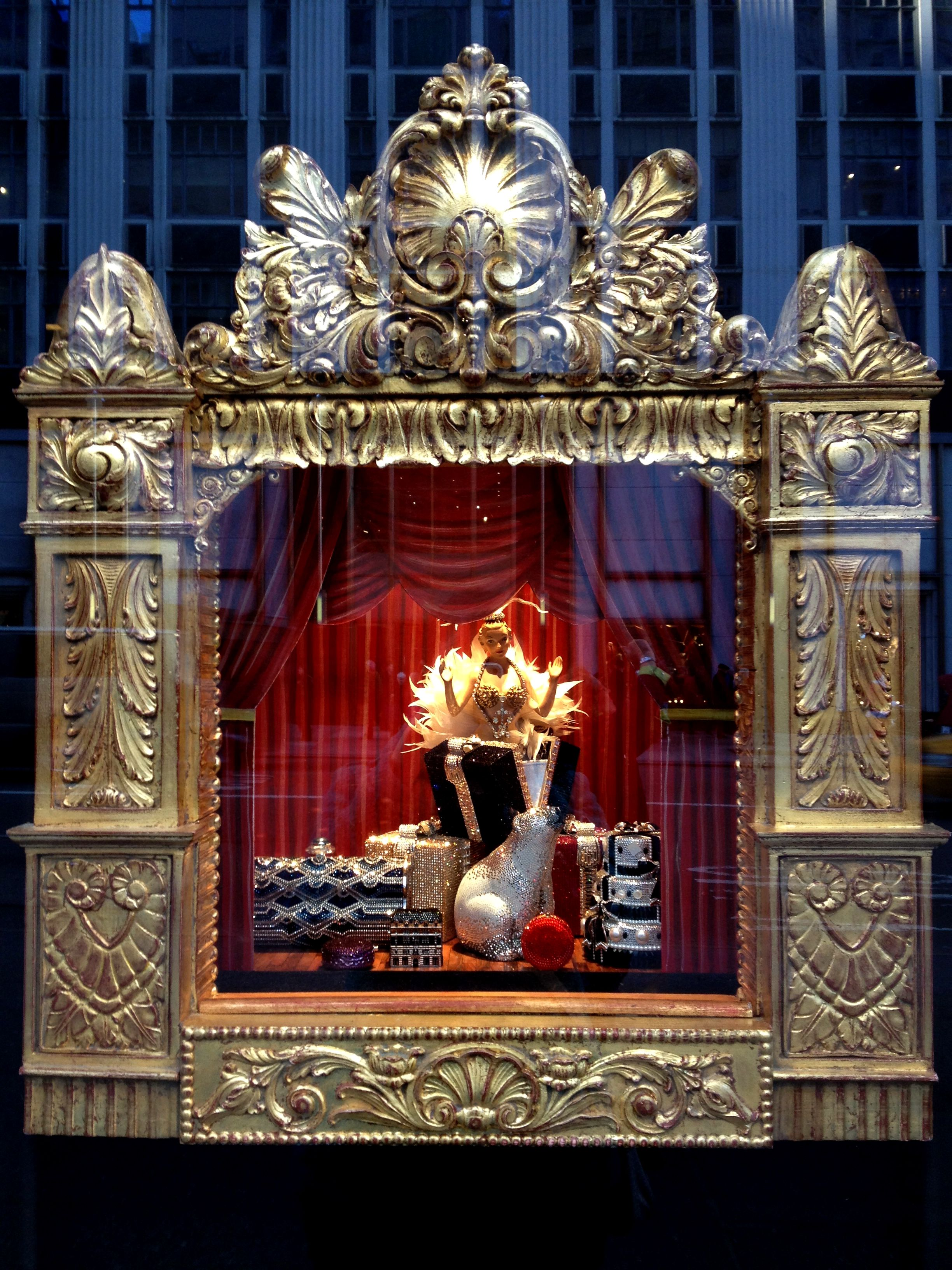 Bergdorf Goodman Christmas Windows | NYC 2012