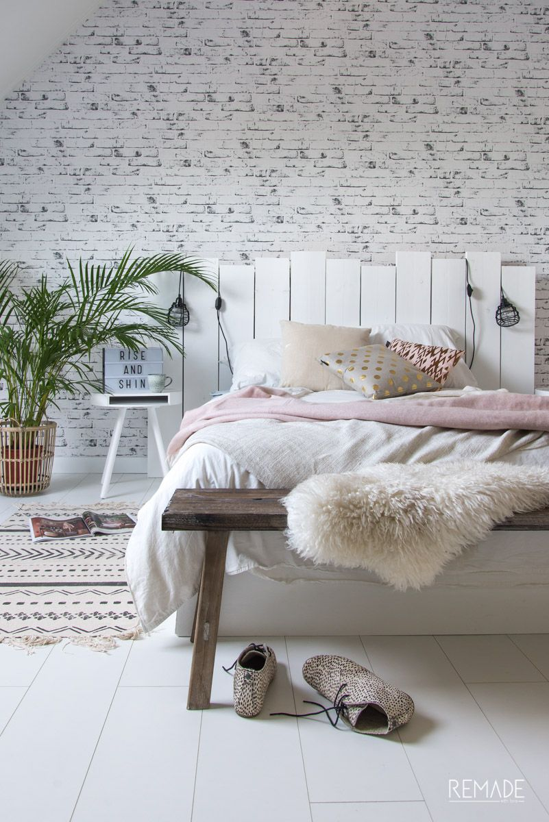 Slaapkamer ideeen | slaapkamer decoratie van KAAT Amsterdam boho ...