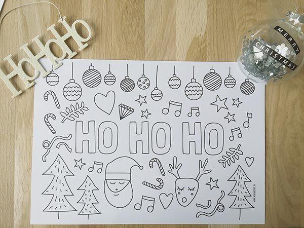 Gratis Printable Voor Kerst Kleur Kleurplaat Die Je Ook Kunt