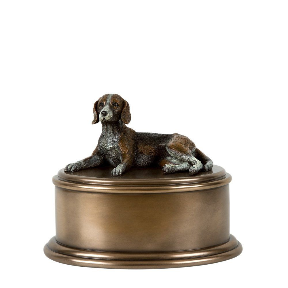 Perfect Memorials Beagle Figurine Cremation Urn Remarkable