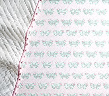 Nora Butterfly Fitted Crib Sheet Crib Sheets Cribs
