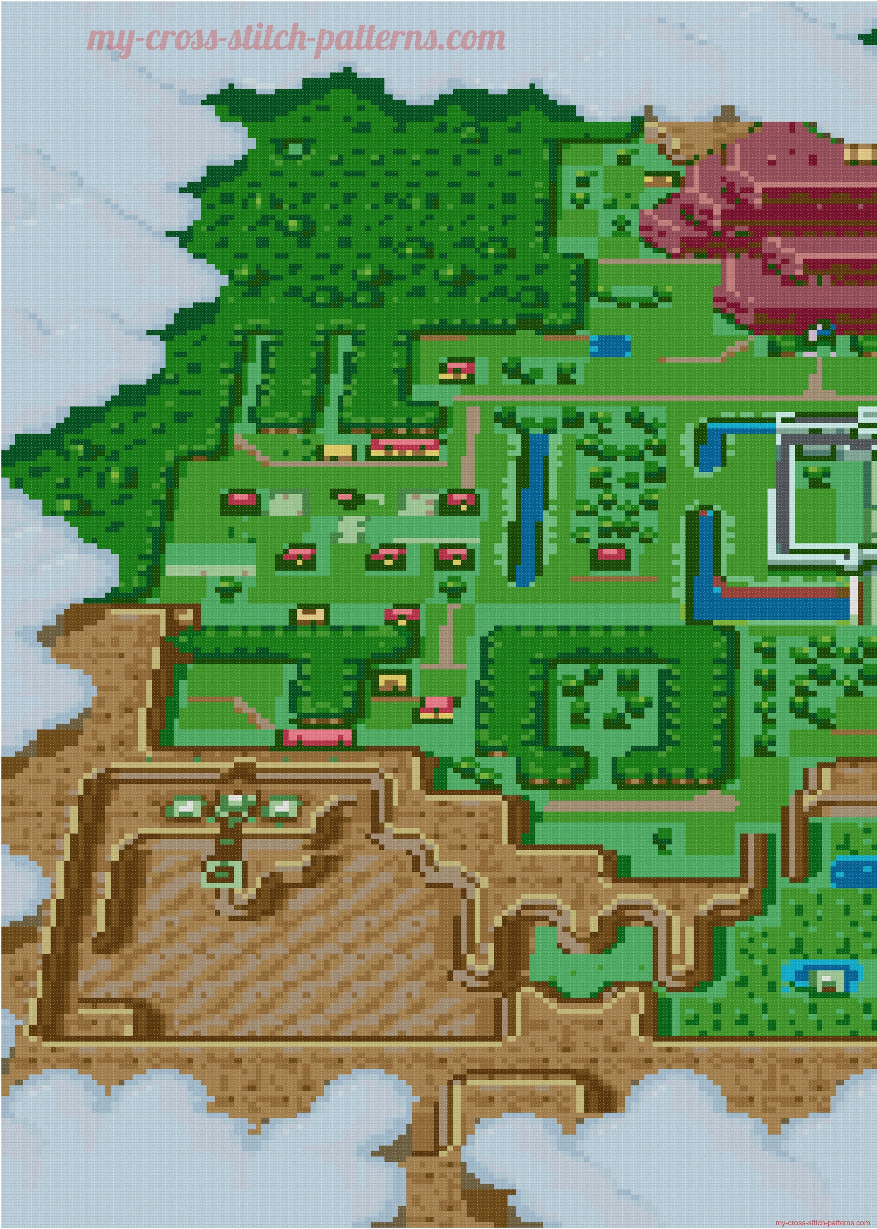 The Legend Of Zelda A Link To The Past Map Cross Stitch Pattern 3 2855x4000 5819562 Cross Stitch Stitch Patterns Cross Stitch Patterns