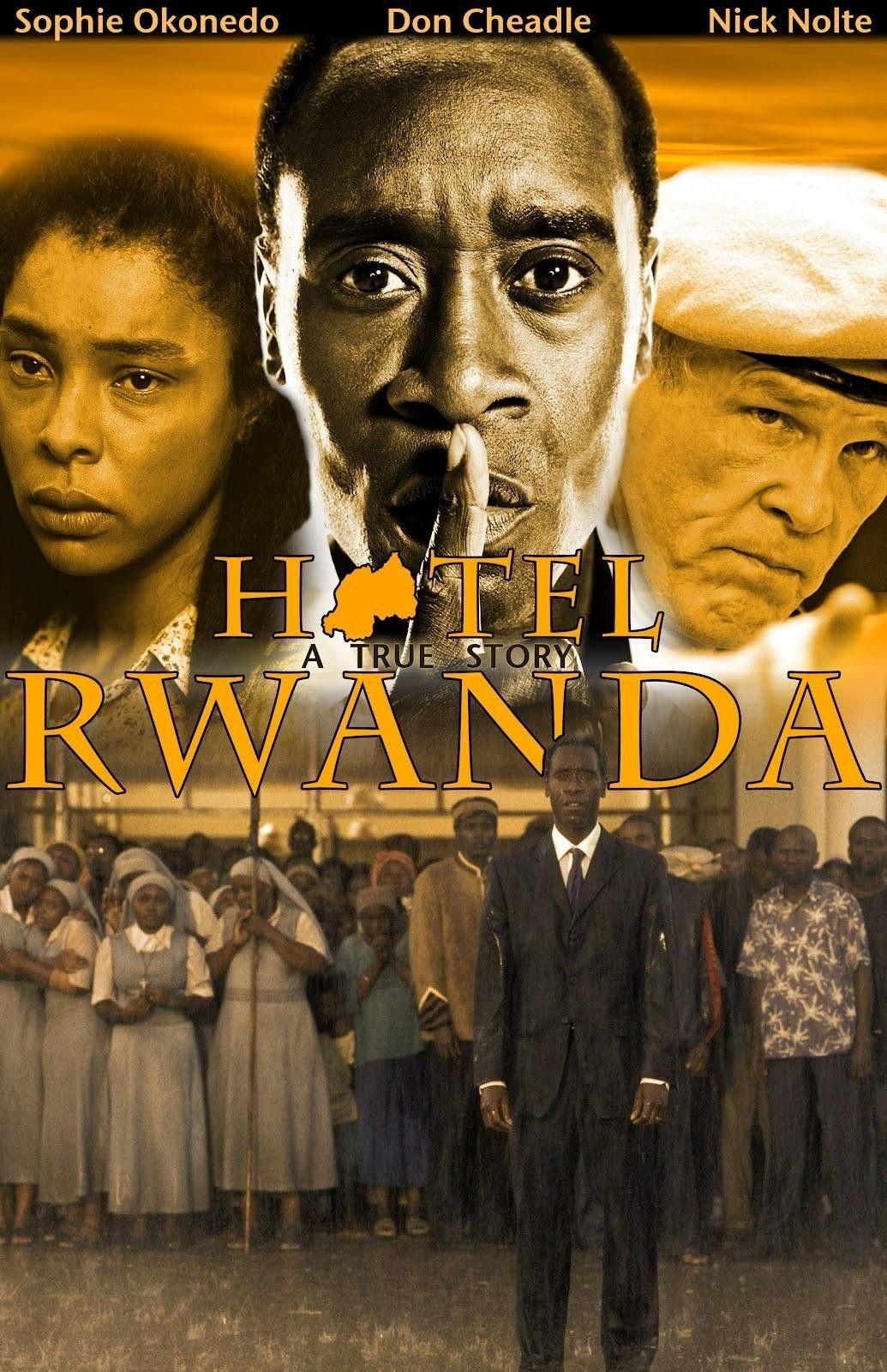 Hotel Rwanda 2005 - Terry George Movies & Moviestars