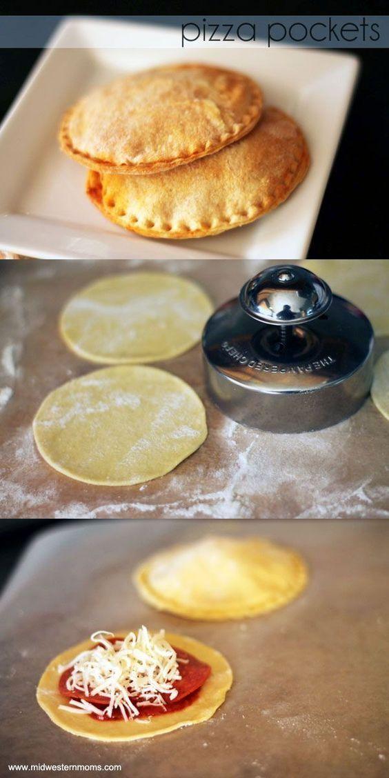 Easy Pizza Pocket Recipe