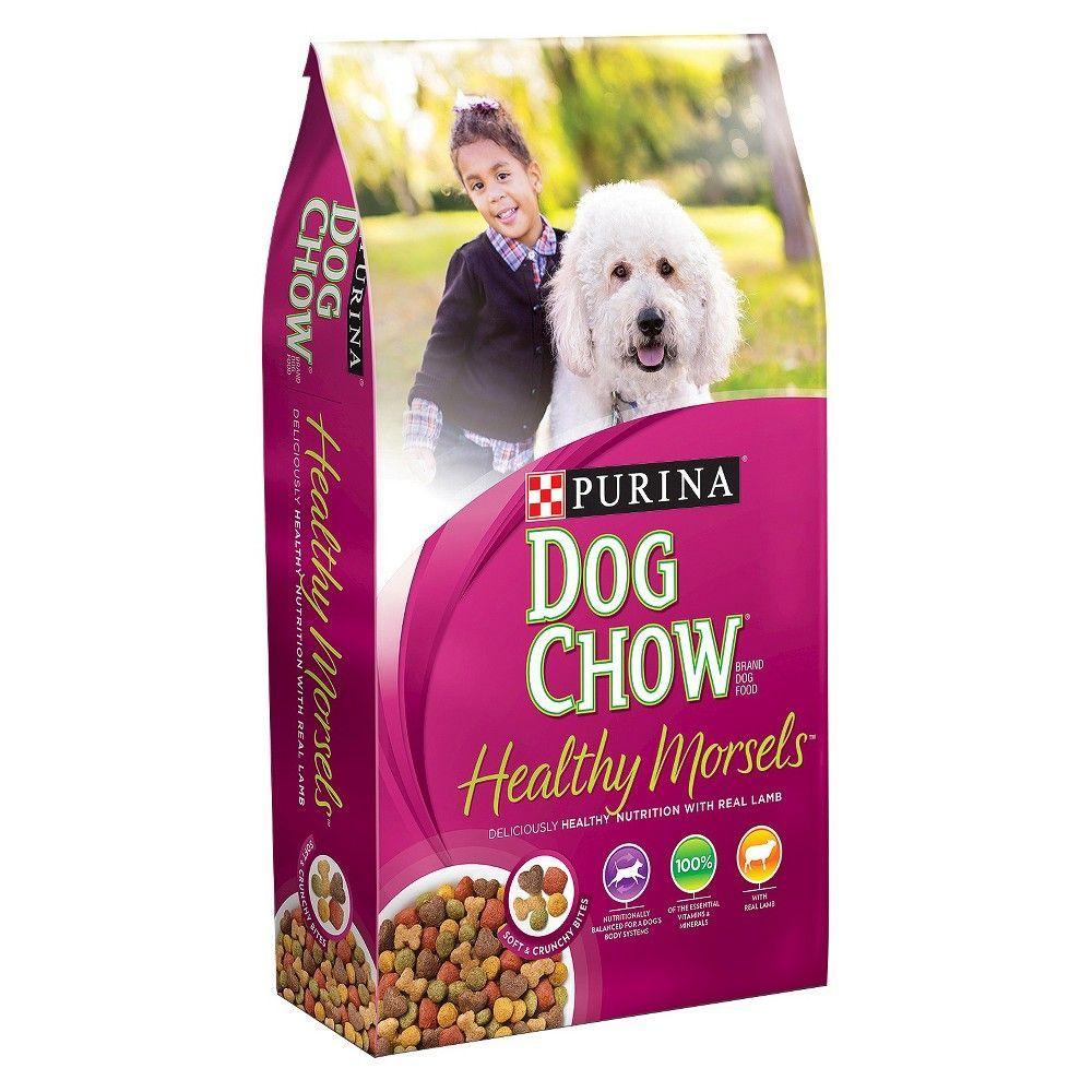 Purina Dog Chow Healthy Morsels Dry Dog Food 16 5lb Bag Purina