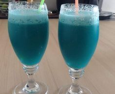 Blue Cabana - Cocktail #beverages