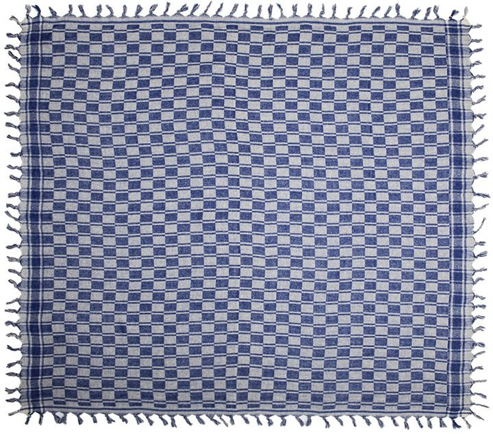 Isabel Marant Tasma Silk Scarf in Blue