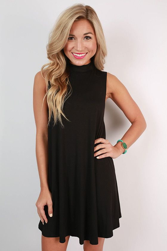 64e0d9e9b79 First Class Flight Tank Dress in Black