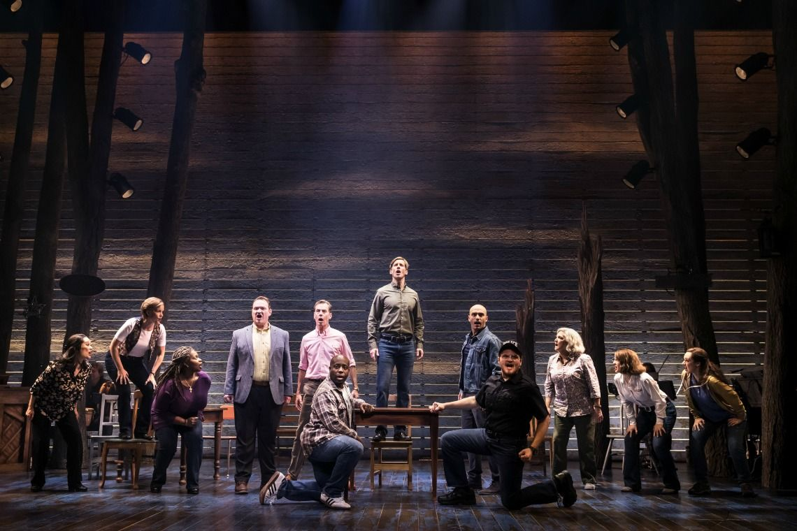 Come From Away At Detroit S Fisher Theatre Come From Away Musicals Musical Theatre