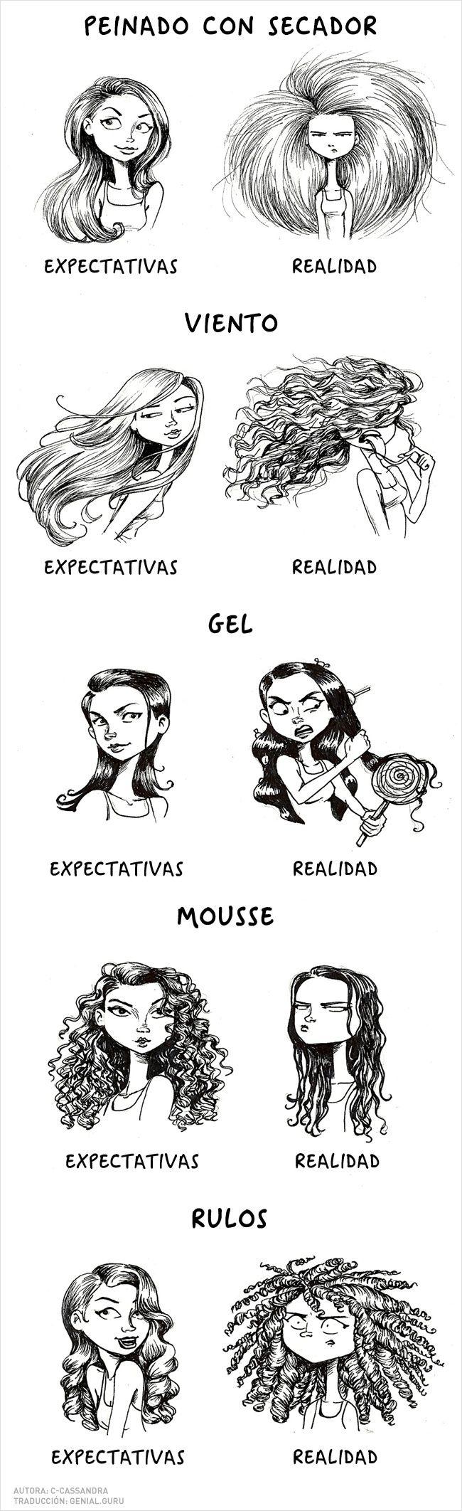 Estos cómics entienden todos los problemas de las chicas! - TKM Chile