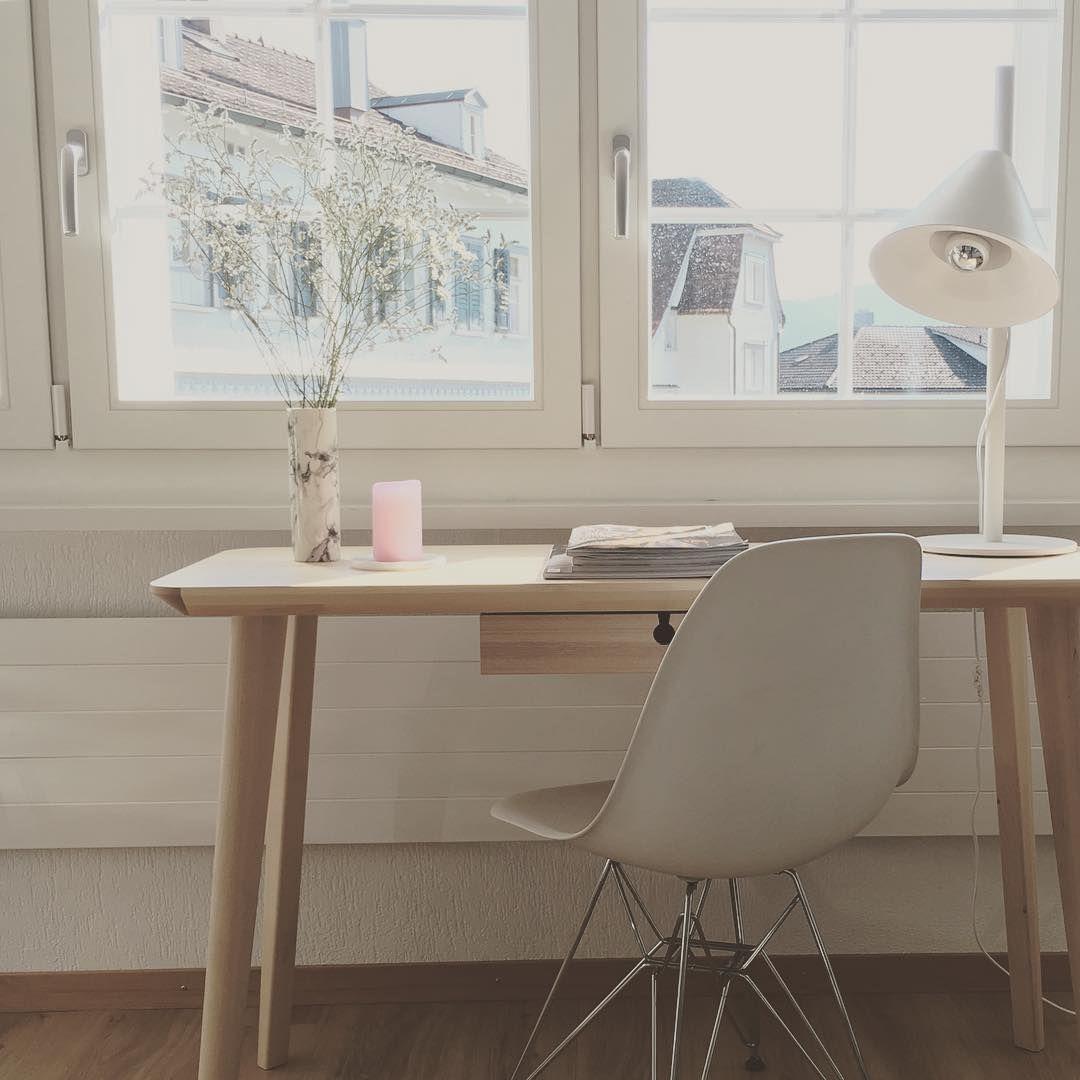 Ikea 'Lisabo' desk & Eames chair mellucia79
