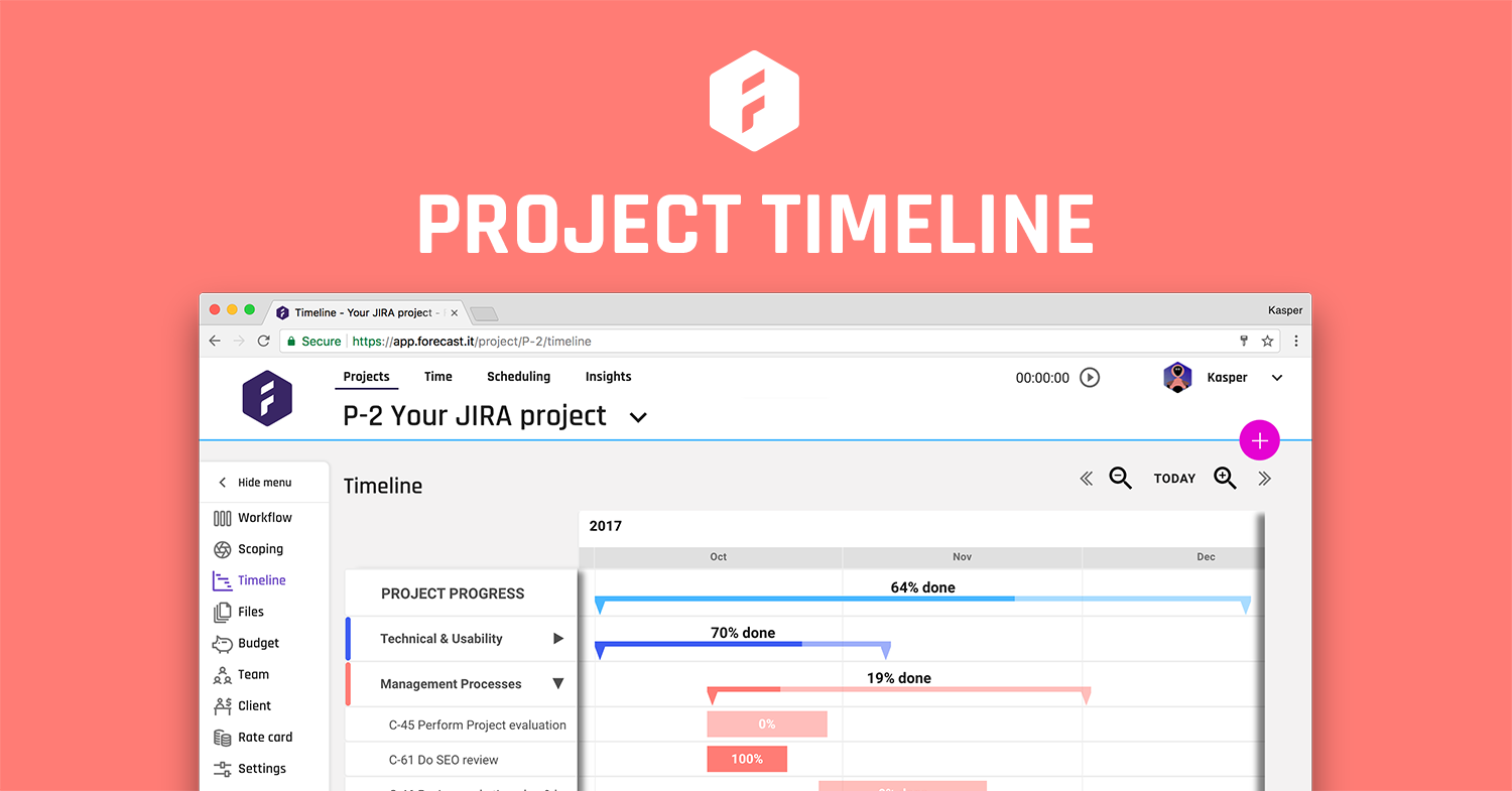 This Week We Launched A New Feature The Project Timeline The