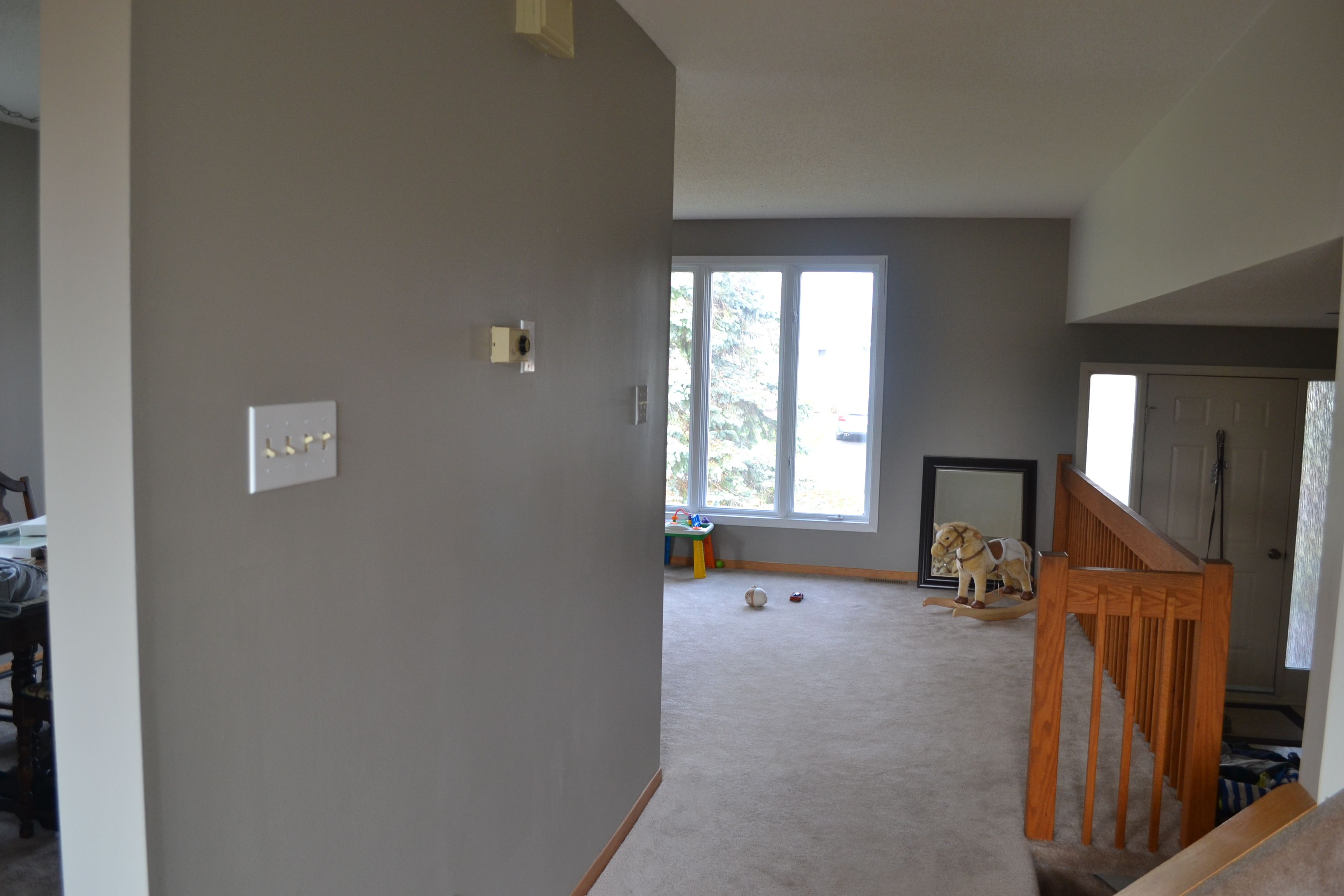 Room Benjamin Moore Rockport Gray