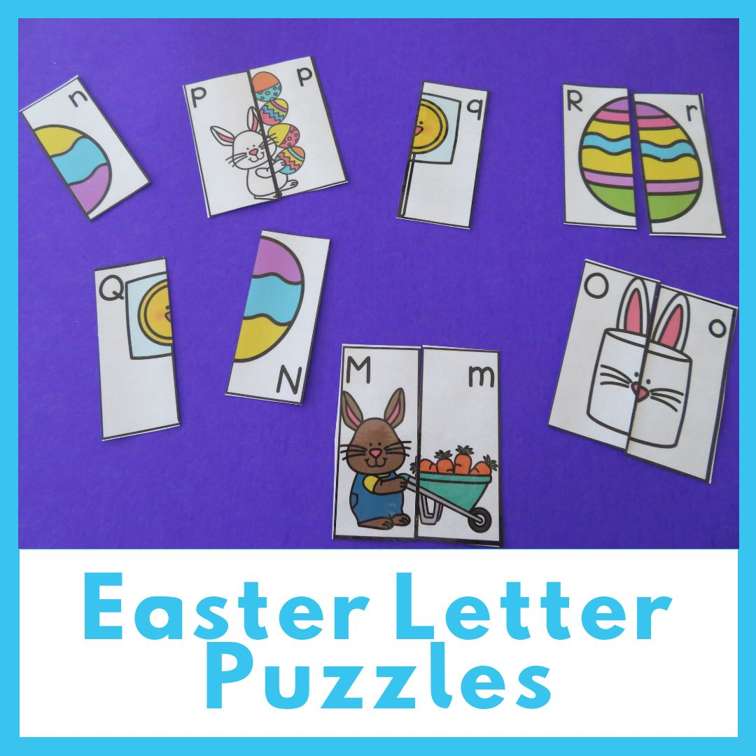 Easter Alphabet Puzzles