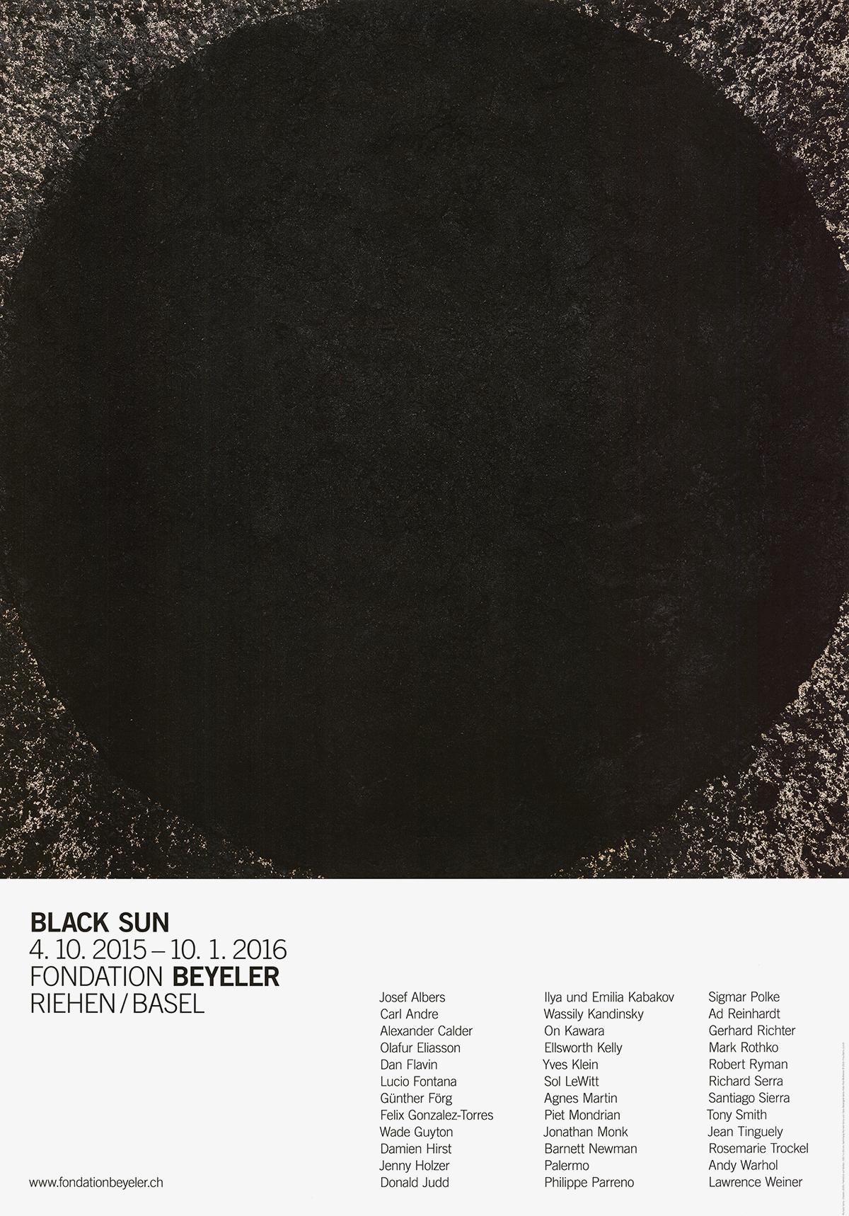 Richard Serra-Cheever-2015 Poster