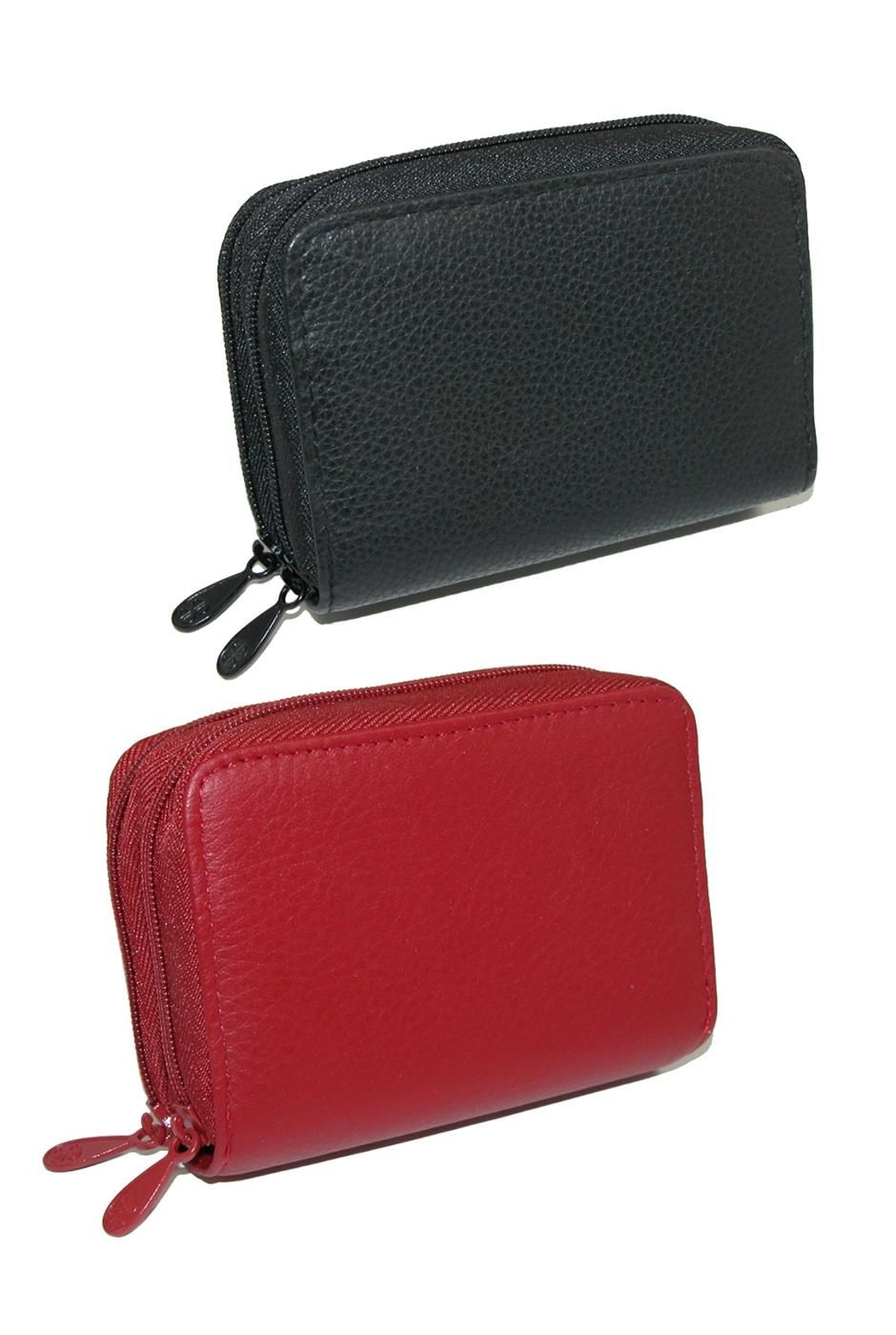 Buxton womens leather mini accordion wizard wallet pack of 2 want to switch out your wallet color or give one away as a gift the multiple compartments have everything you need to keep your cash cards business colourmoves
