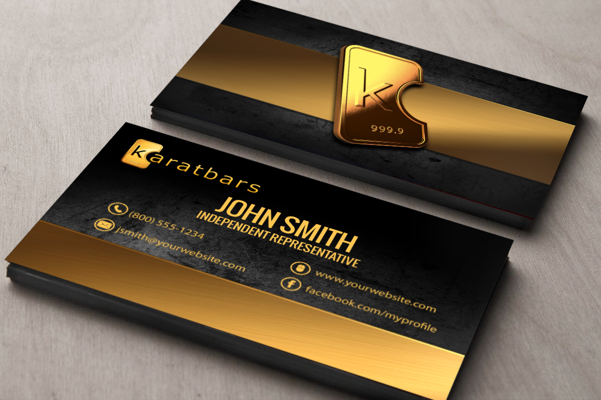 Karatbars Business Cards Free Shipping Karatbars Free Business Cards Business Cards