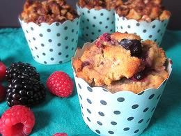 Gluten Free Starbucks Berry Coffee Cake
