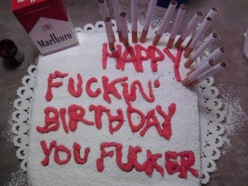 For the smoker 21 Painfully Honest Cakes For Every Occasion