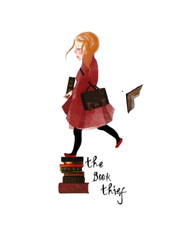Homage To The Book Thief Art Print The Book Thief