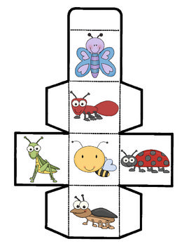 Insect Cube Game #insects