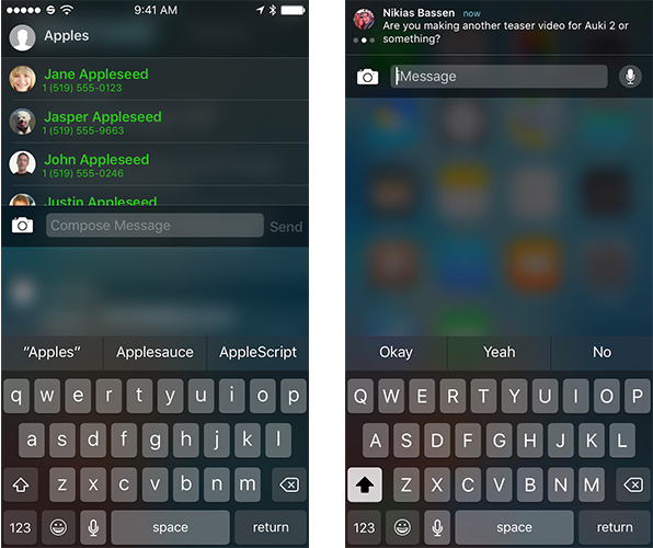 Auki 2 Released for iOS 9, Brings Quick Reply & Quick Compose to Messages App