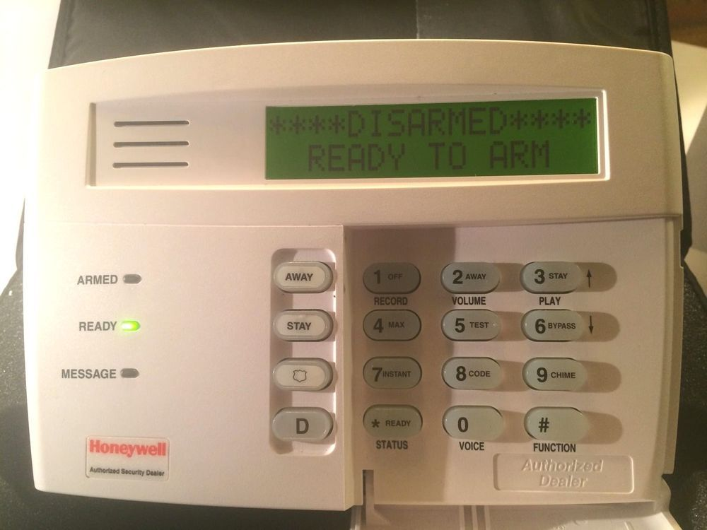 Security System Keypad Security Keypad Honeywell Security Rear Module Honeywell Honeywell Home Security Home Security Honeywell Security