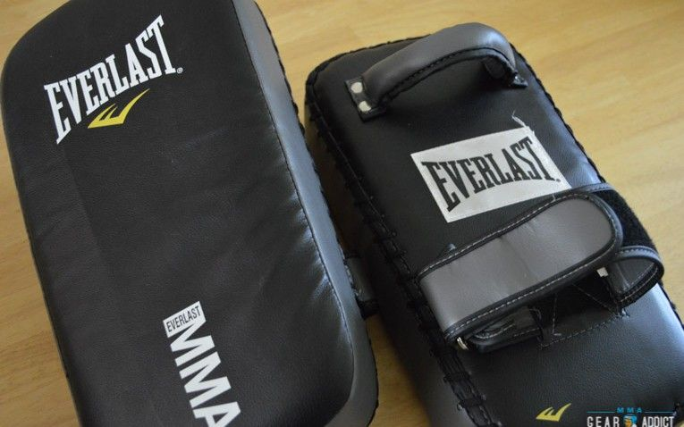 Everlast Thai Pads Review - MMAGaerAddict #thaipads #everlast #review #mmagearaddict