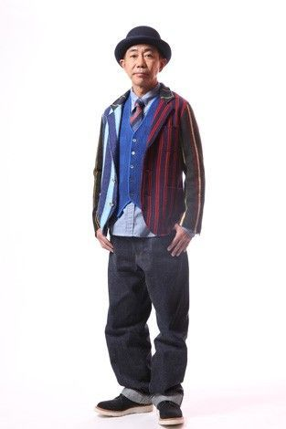 おしゃれ番長、木梨憲武の外しファッションをご紹介します!の画像