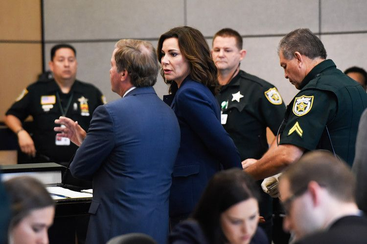 Rhony Star Luann De Lesseps Admits To Violating Probation Is Briefly Handcuffed In Court People Housewives Of New York Jail Handcuff
