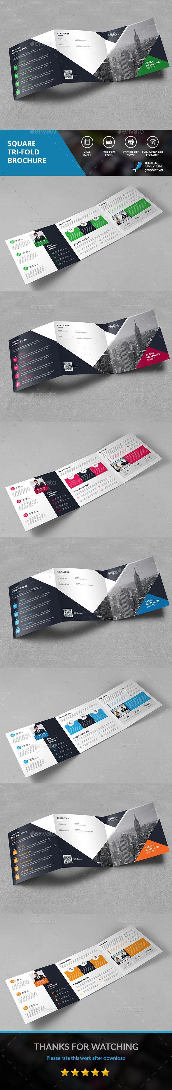 SQUARE TRI-FOLD - Corporate Brochures Download here : https://graphicriver.net/item/square-trifold/19658297?s_rank=86&ref=Al-fatih