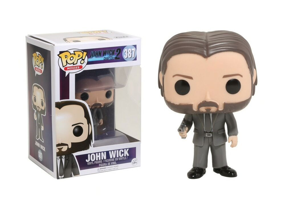 Funko Pop Movies John Wick Chapter 2 John Wick Vinyl Figure Item 12535 889698125352 Ebay Vinyl Figures Vinyl Figures Toys Funko