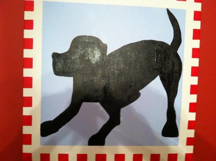 Doggie silhouette...