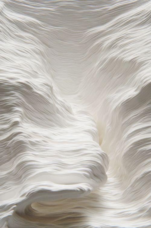 Topographic Paper Landscapes | Noriko Ambe - Arch2O.com