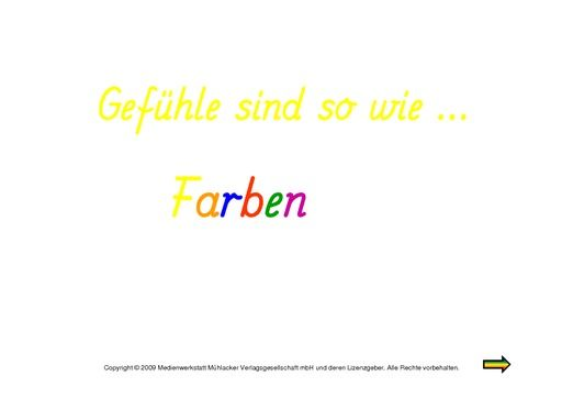 Gefühle-sind-wie-Farben-Präsentation.pdf   Schule   Pinterest