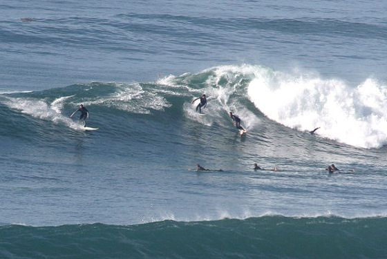 Surfers Protest Against Professional Surf Contests At Swami S Beach In California Surfing Surfing Photography Surfing Destinations