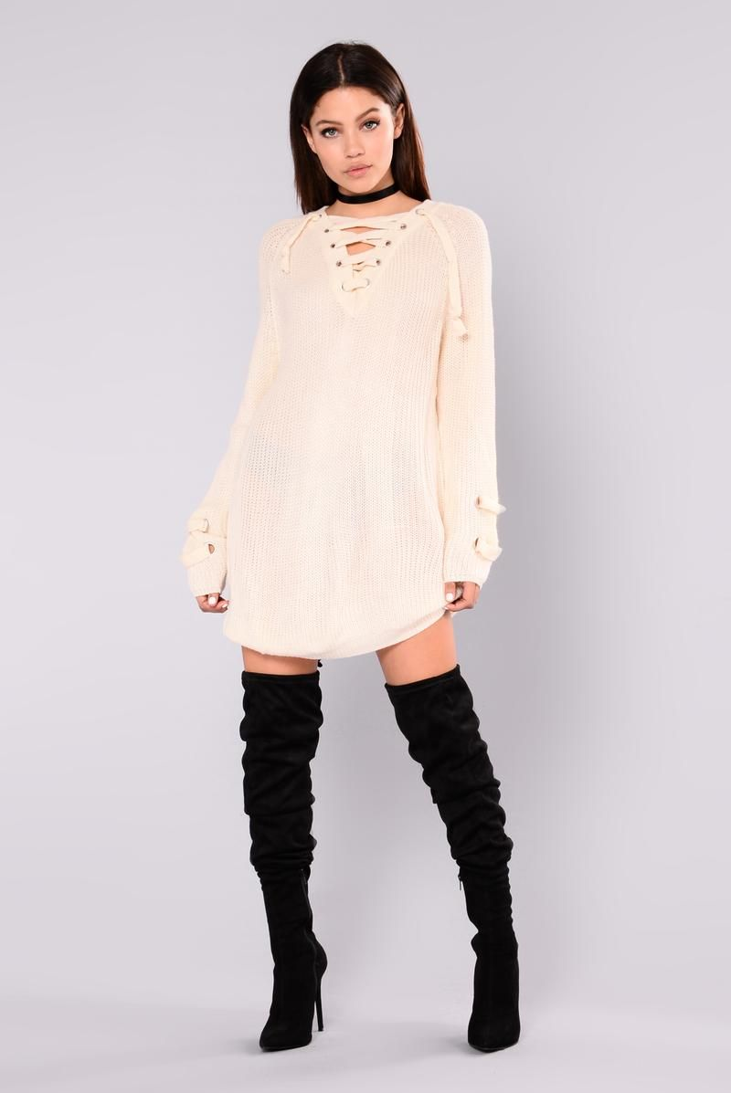 Pin by Amira on clothes Sweater dress, Fashion nova