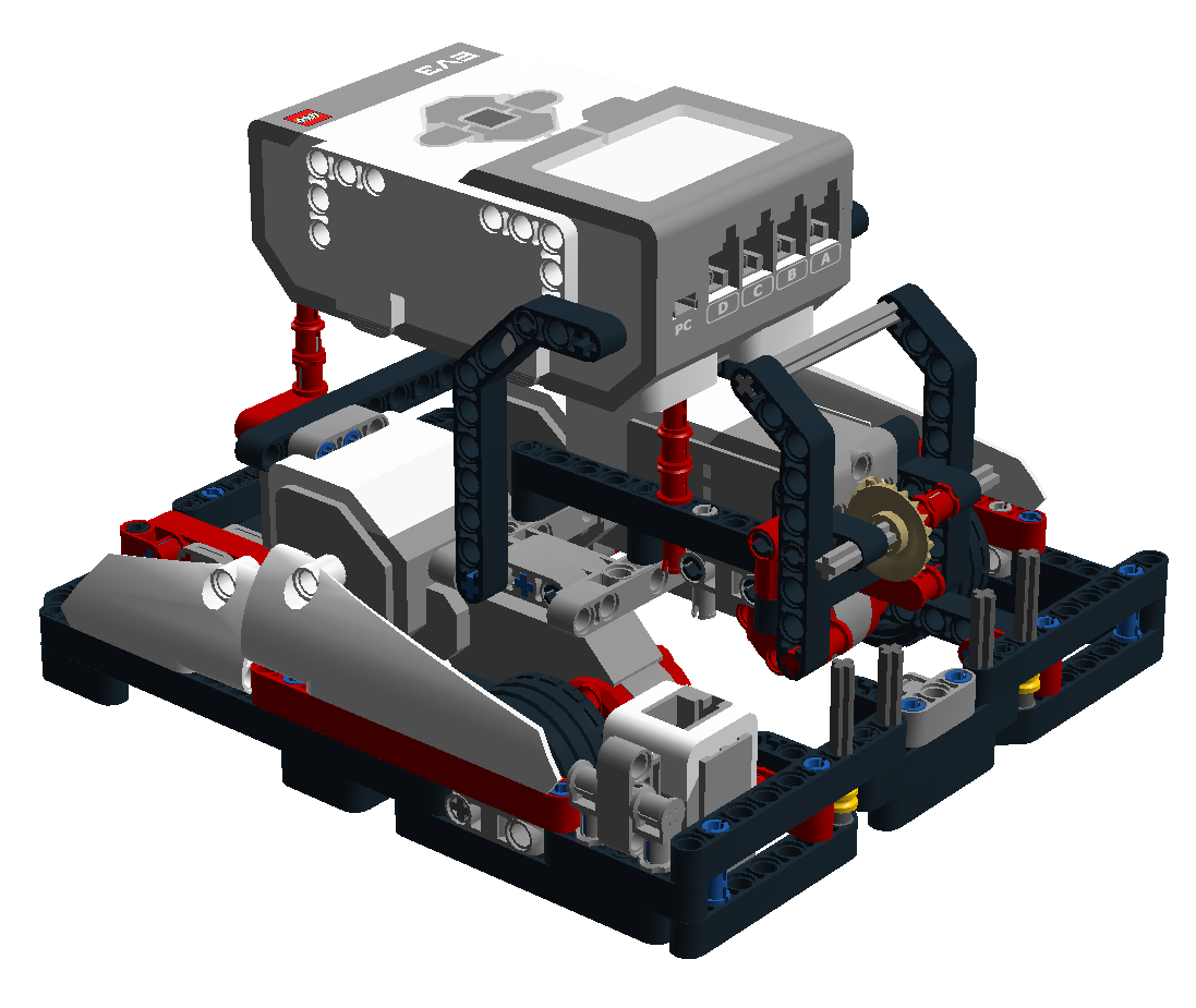 EV3 and NXT competition robots