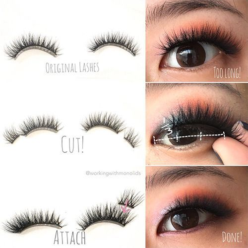 cd93039730d This Genius False Eyelash Hack Will Make Small Eyes Look Bigger | allure.com