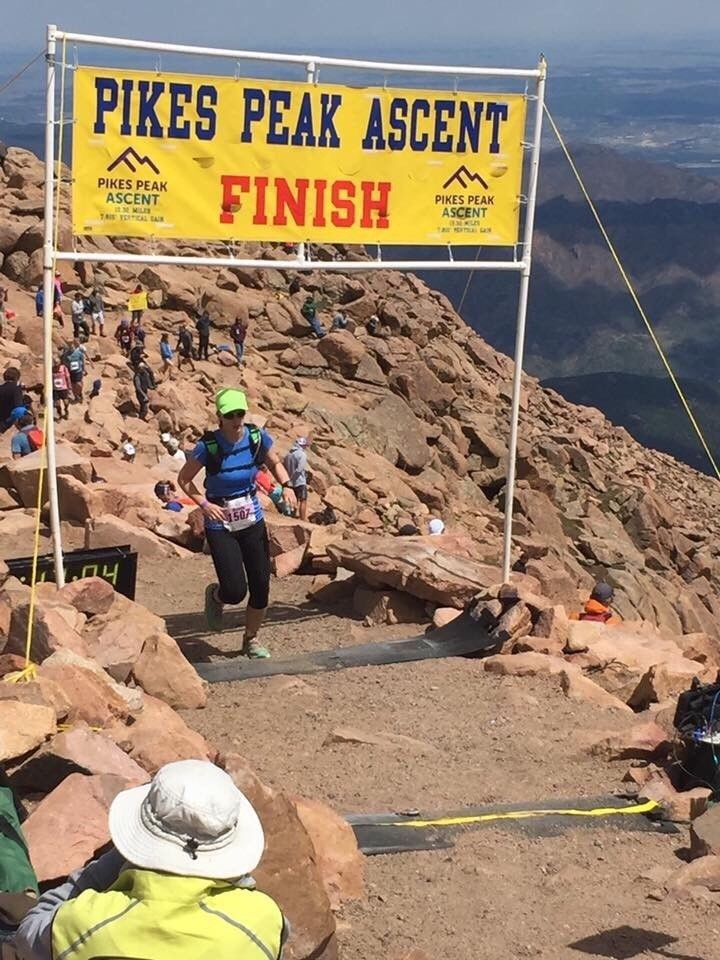 Race Recap What It S Like To Run Up Pikes Peak Fit Bottomed