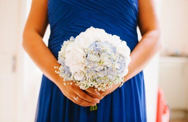 wedding flowers informal bouquets hydrangea - Google Search