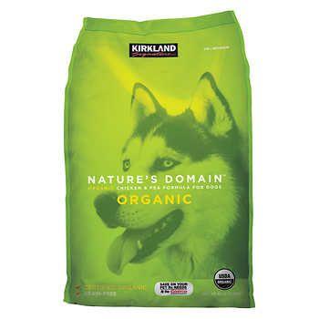 Kirkland Signature Nature S Domain Organic Chicken Pea Dog Food