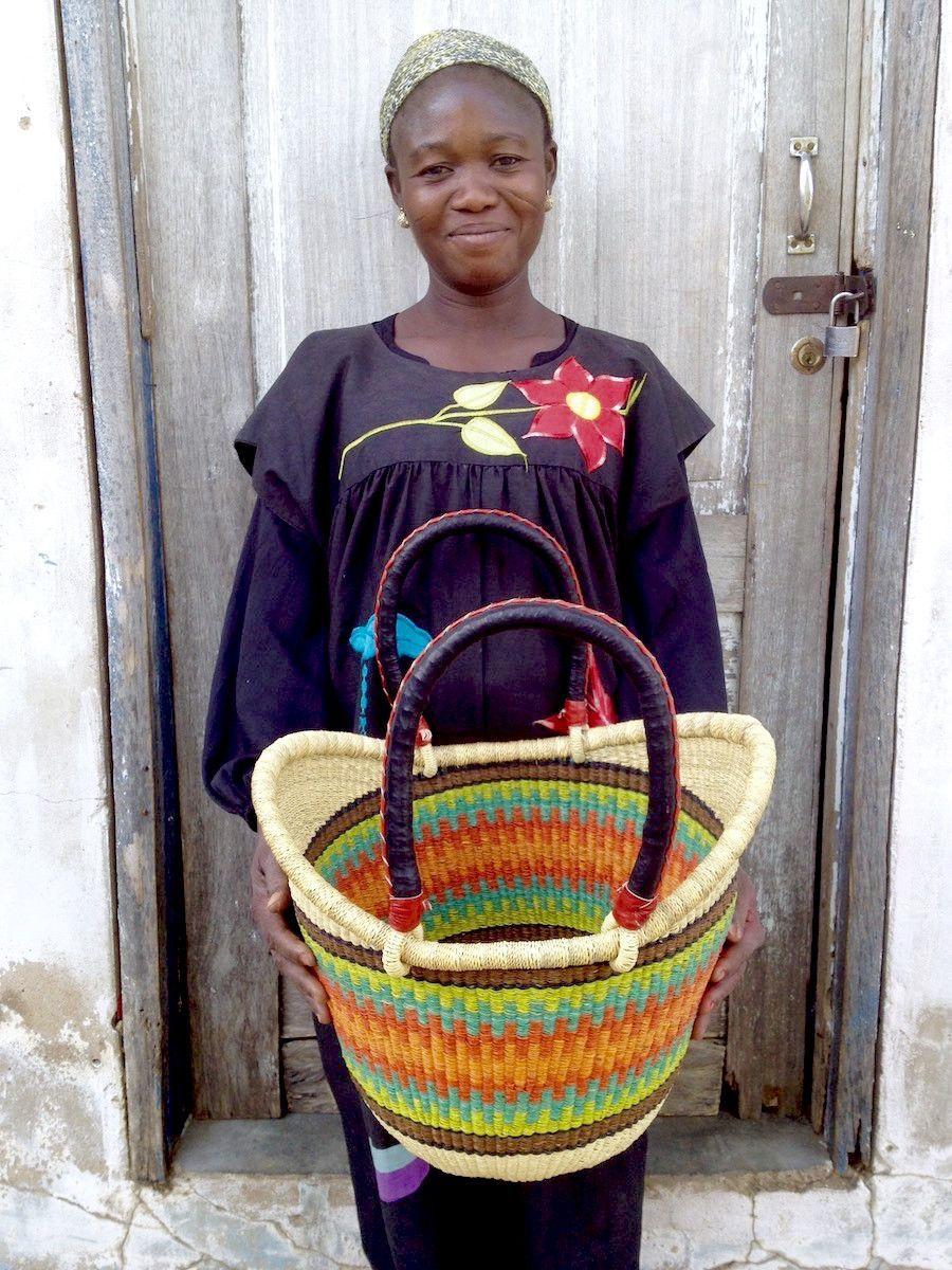 Nyariga Basket (Medium) by Akelebe
