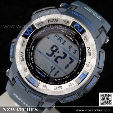 Casio Protrek Triple Sensor Altimeter Barometer Compass Solar Watch  PRG-260-2 1f805305384f