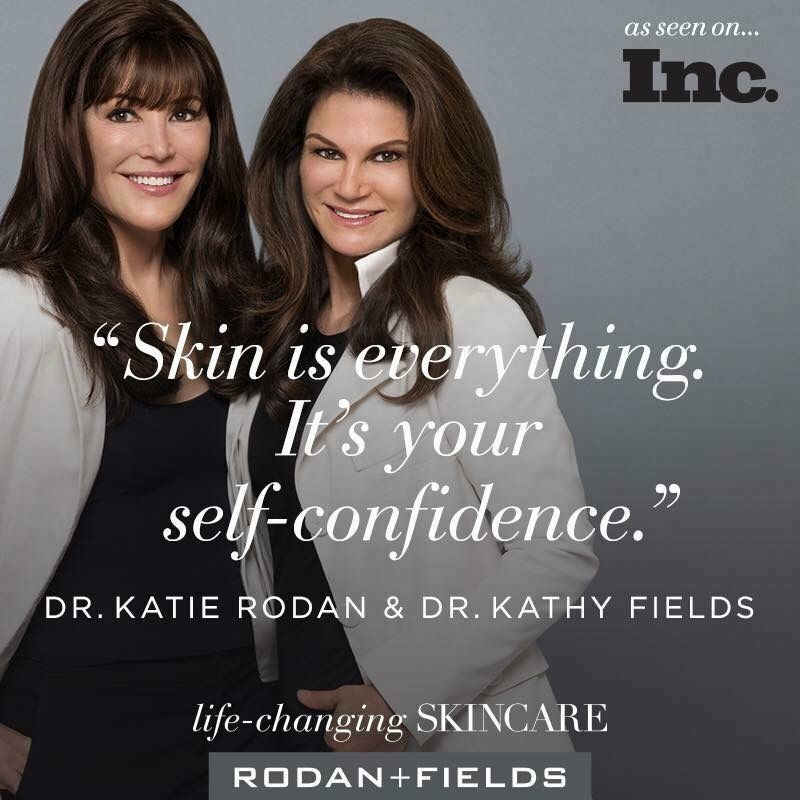 Rodan + Fields Skincare FIXES issues, it doesn't cover them up, and there's something for everyone!