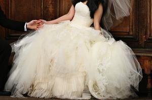 Vera Wang Eliza - Used Wedding Dress   SmartBrideBoutique.com
