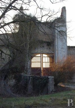 The 11th/12th century ruins of a listed castle 45 miles from Paris - chateaux for sale France.
