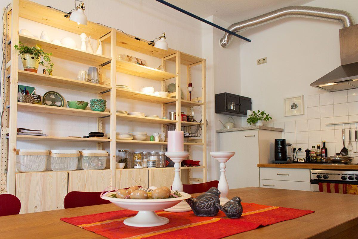 Fantastisch Küche Herausziehen Regale Zeitgenössisch - Küchenschrank ...