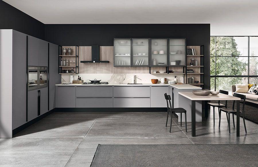 Marche Cucine Moderne.Cucine Moderne Grigie 22 Modelli Delle Migliori Marche